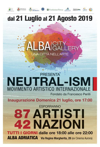 Alba City Gallery, Italy - July 2019