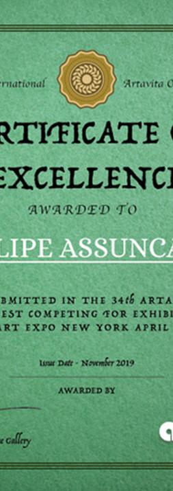 Artavita Art Contest Award