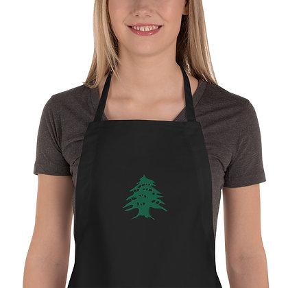 Wally's Cedar Apron (Embroidered)