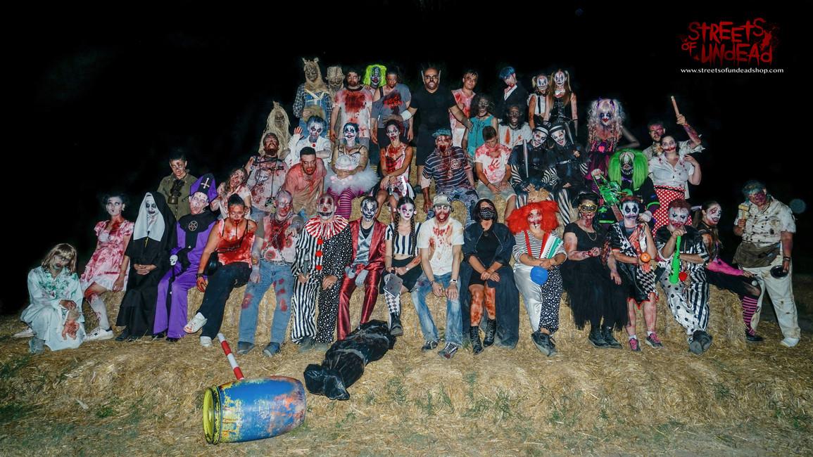 Figuranti Labirinto Dedalo Horror Streets Of Undead 2019