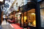 Rallye dans les passages parisiens