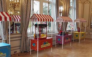Stands kermesse et forains - summer party