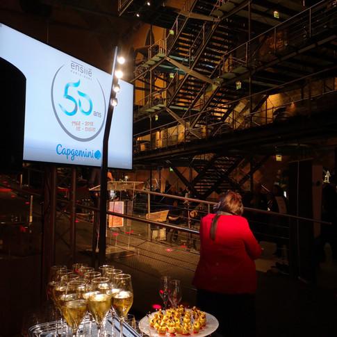 Anniversaire entreprise - 50 ans ENSIIE - Musée des Arts et métiers - 400 personnes