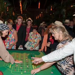 Animation casino à thème | table de roul