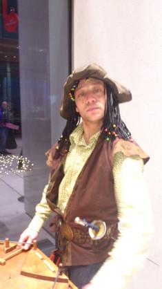 comédien pirate
