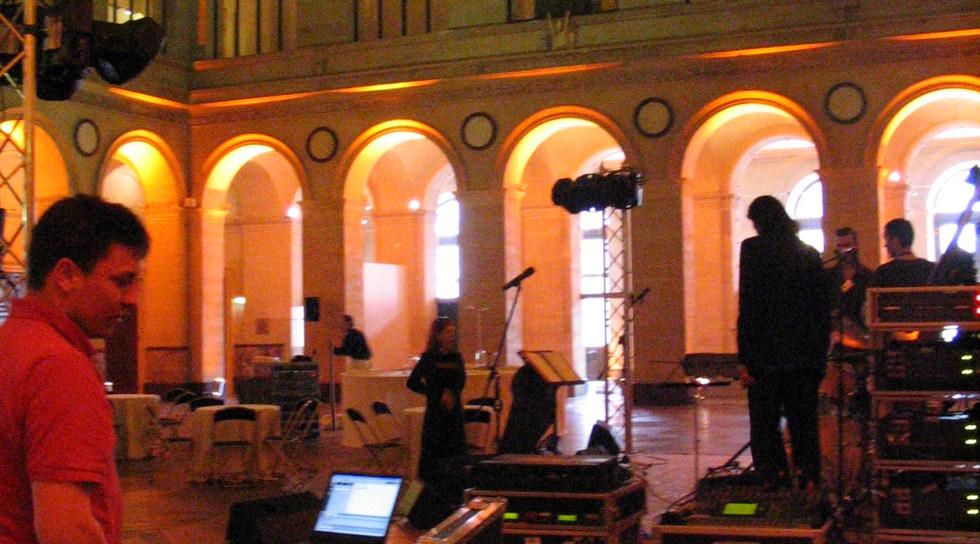 Palais Brongniart - Prestation technique