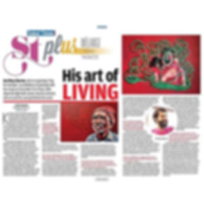 """Featured in today's Sakal Times._""""Sing f"""