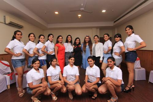 Miss Scuba India Art Workshop