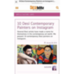 Featured in DESIblitz.com is the award w