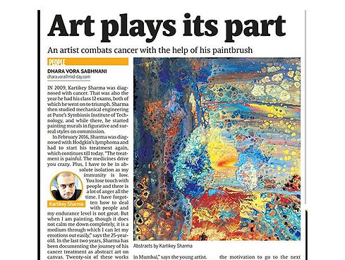 """Today's Midday """"Art plays its part""""_#mid"""