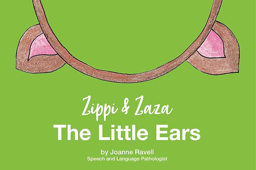ZIPPI AND ZAZA THE LITTLE EARS AUDIO SENSORY STORY