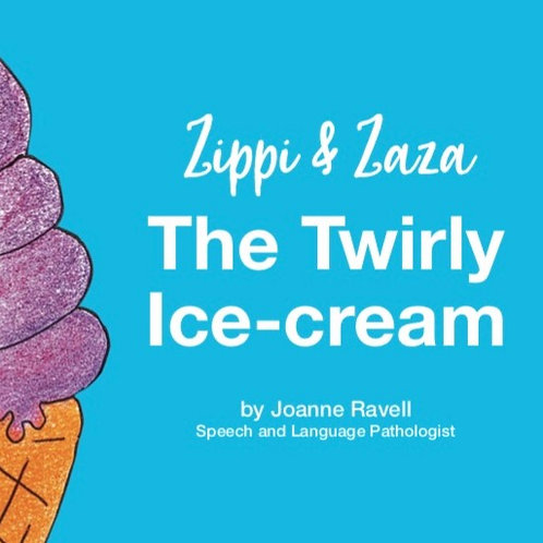 ZIPPI AND ZAZA THE TWIRLY ICE CREAM AUDIO QUESTION STORY