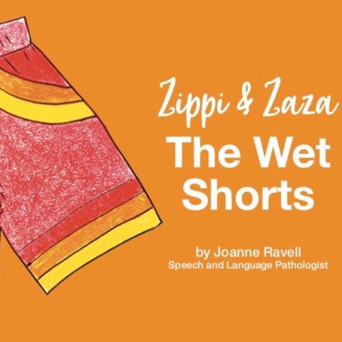 ZIPPI AND ZAZA THE WET SHORTS AUDIO SENSORY STORY