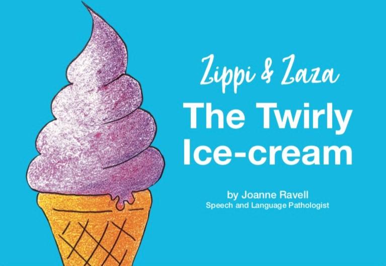 THE TWIRLY ICE CREAM