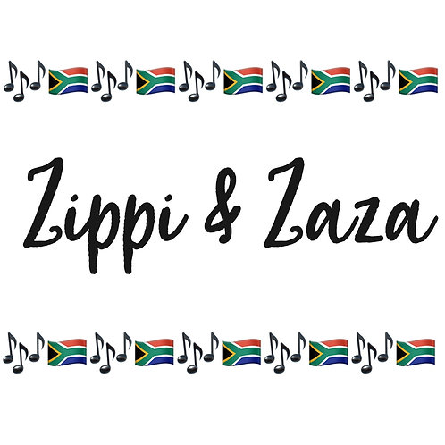 """ZIPPI AND ZAZA THEME SONG - Add to Cart and enter promo code """"FREESONG"""""""