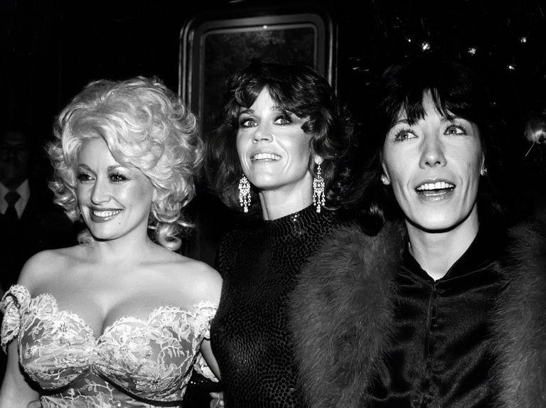 Eccole: Dolly Parton, Jane Fonda e Lily Tomlin.