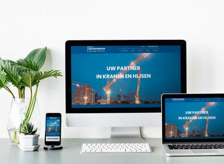 Bouw website Kraanverhuur