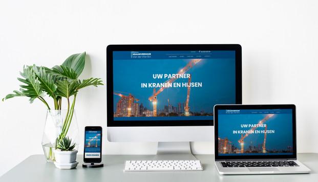 Kraanverhuur Website