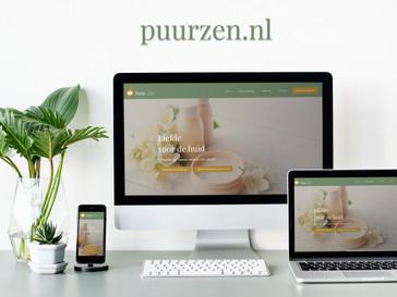 Nieuwe website Puur Zen online