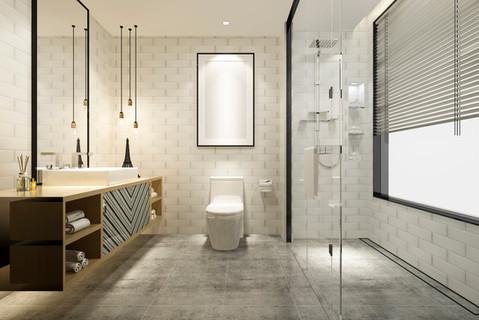 Luxe moderne badkamer