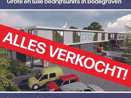 Bedrijfsunits Bodegraven Rijnhoek Verkocht!