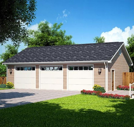(+)Detached Garage/Outbuilding 3-4 Stall