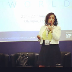 #MarciaBrock #Talks  #SmartWorld #CloudOpps. #Connecting  the world the smart way