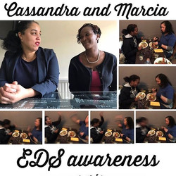 This May is #edsawarenessmonth _cassandra_a_campbell and _marcia_brock have been living with Ehlers