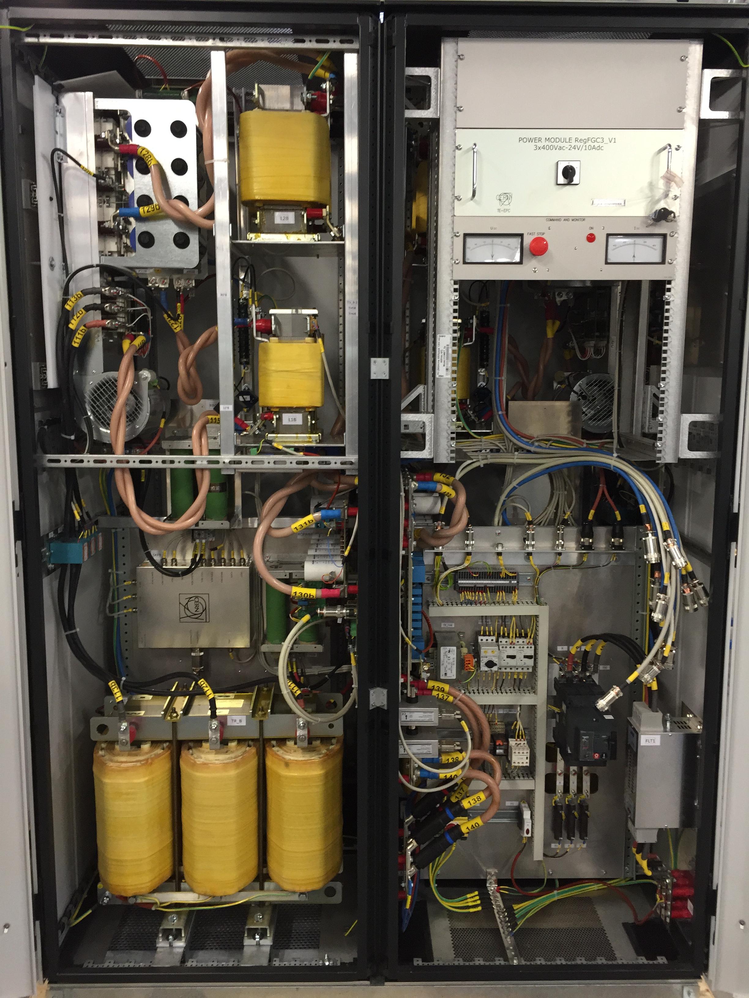 Armoire électromécanique