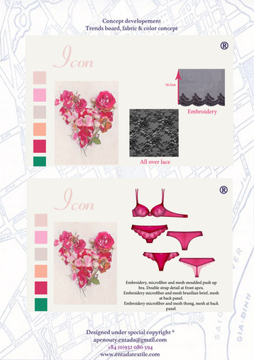 LINGERIE PRODUCT BOARD