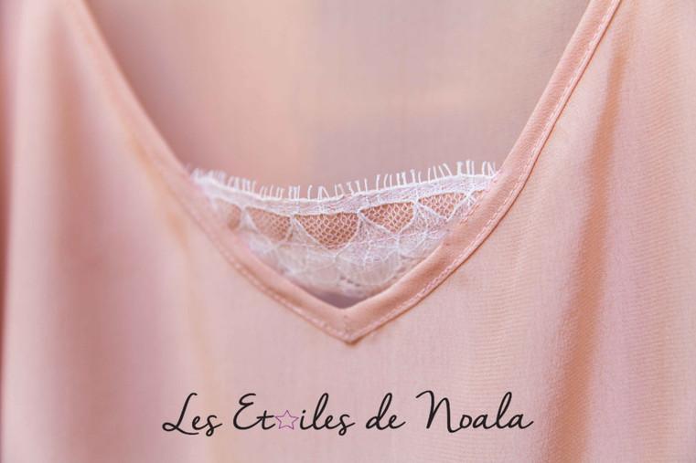 back details silk nightwear