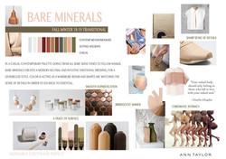 Trend board AW 18 : Bare Minerals
