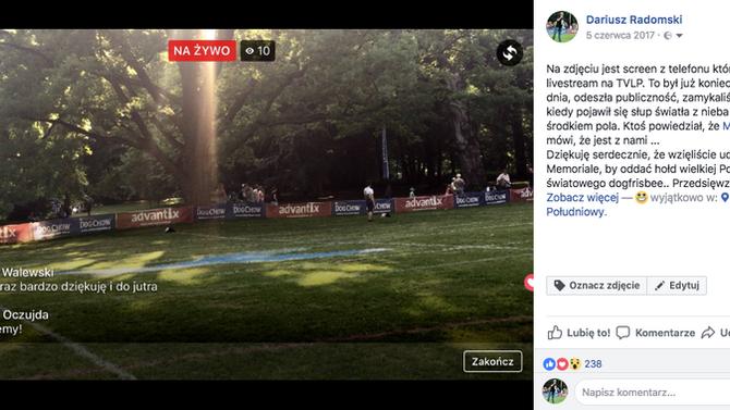 Otwarte Mistrzostwa Polski Dogfrisbee - 2. Memoriał Melissy Heeter
