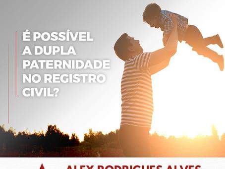 É possível a dupla paternidade no registro civil?