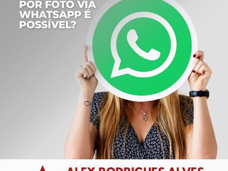 Reconhecimento por foto via Whatsapp é possível?