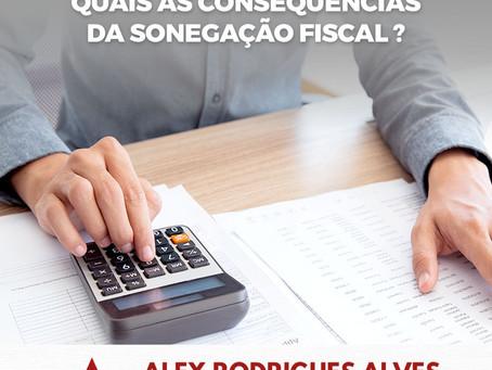 Quais as consequências da sonegação fiscal?