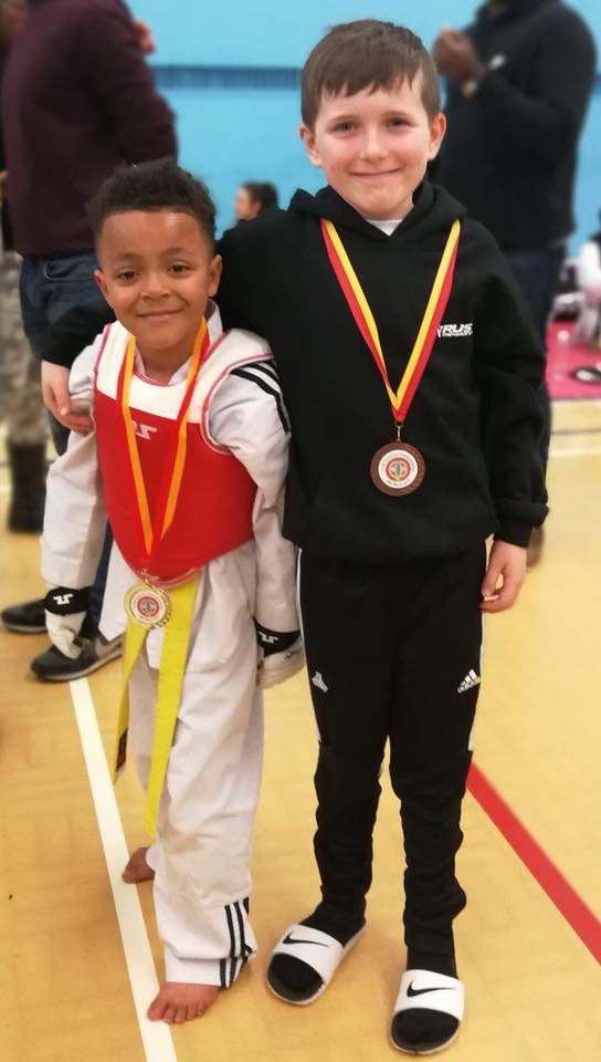 Awesome result for these two superstars! Medals for both at the Chungdokwan Taekwondo Tournament in Bracknell on 24th March 2018! Great weekend for Rusty Taekwondo!