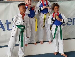 4 Medals for Rusty Taekwondo