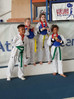 4 Medals for Rusty Taekwondo
