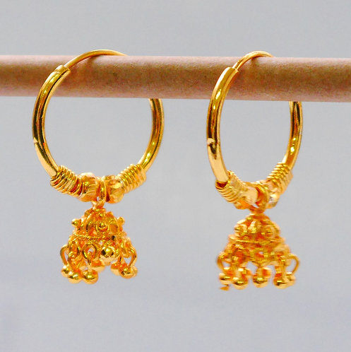 Gold plated earrings he9