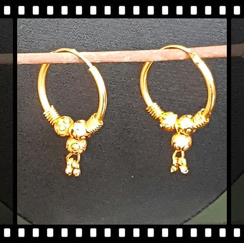 25mm hoop earrings