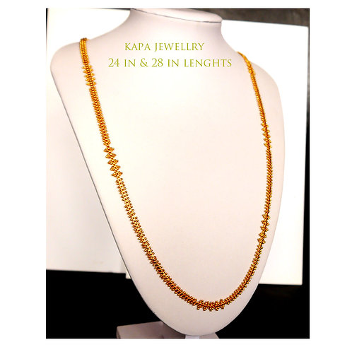 chain necklace 24 in