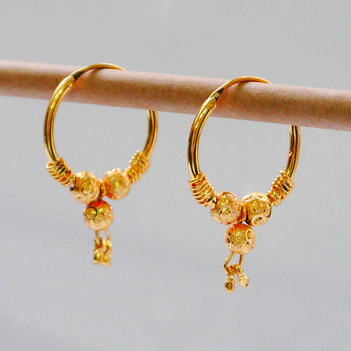 Gold plated earrings he7