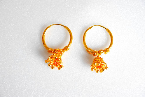 Gold Plated Earring E4