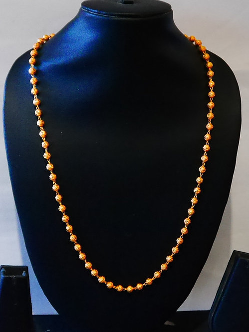 Gold plated chain  24 IN