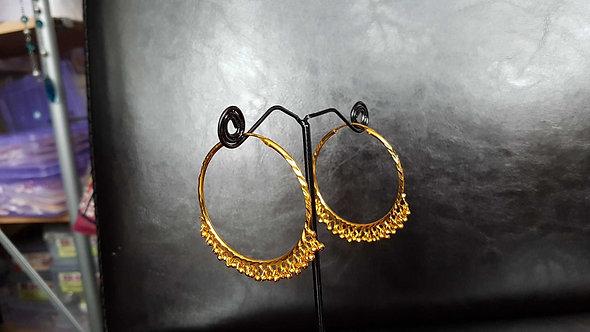 Large Hoop earrings dia 45 cm