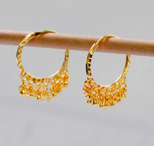 Gold plated earrings he11