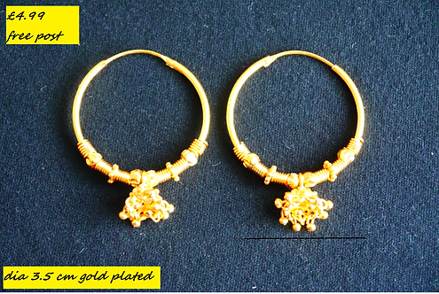 Gold Plated Earring E3