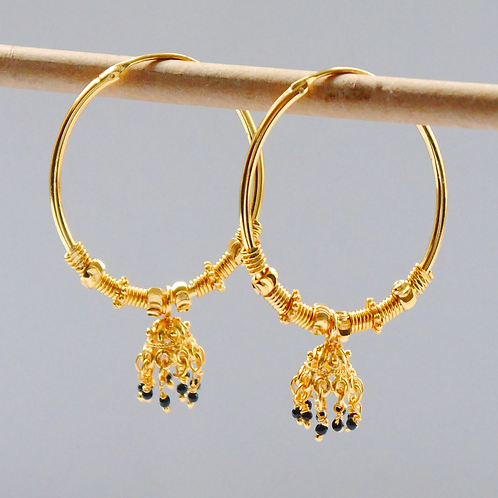 Gold plated earrings he3