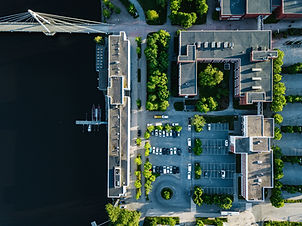 aerial-view-of-city-buildings-with-car-p